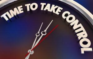 time to take control