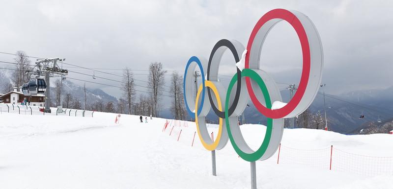 winter olympics skiiing