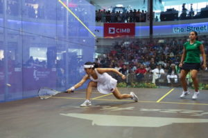 world squash championships women match