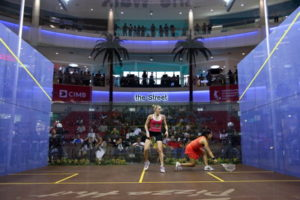 world squash championships womens match