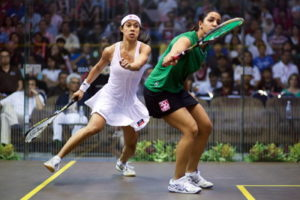 world squash championships womens match close up